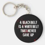 Blackbelt Basic Round Button Key Ring