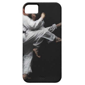 Blackbelt Doing a Front Kick Barely There iPhone 5 Case