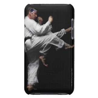 Blackbelt Doing a Front Kick Barely There iPod Cover
