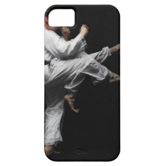 Blackbelt Doing a Front Kick Case For The iPhone 5