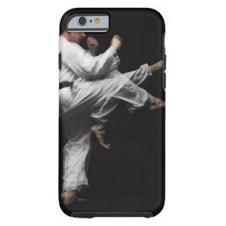 Blackbelt Doing a Front Kick Tough iPhone 6 Case