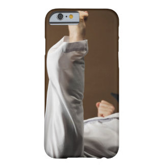 Blackbelt Doing Front Punch Barely There iPhone 6 Case
