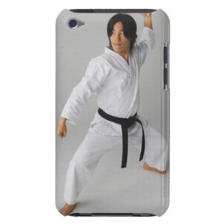 Blackbelt In An At Ready Stance iPod Touch Cases