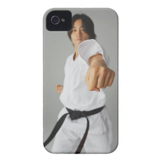 Blackbelt Punching iPhone 4 Case-Mate Case