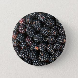 Blackberries 6 Cm Round Badge