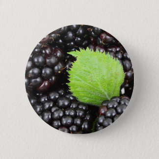 Blackberries 6 Cm Round Badge