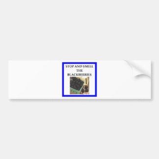 BLACKBERRIES BUMPER STICKER