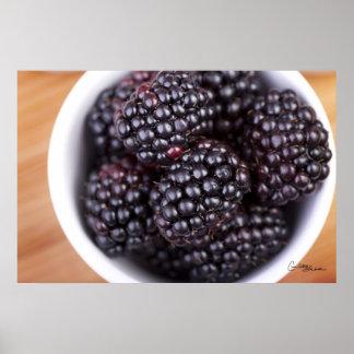Blackberries Print