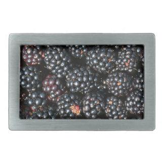 Blackberries Rectangular Belt Buckle
