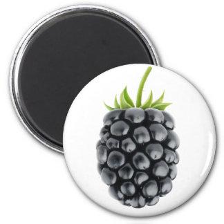 Blackberry 6 Cm Round Magnet