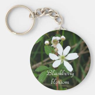Blackberry Blossom keychain