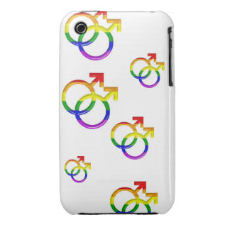 "BlackBerry Bold Cover    ""Intertwined Gay Symbols"""