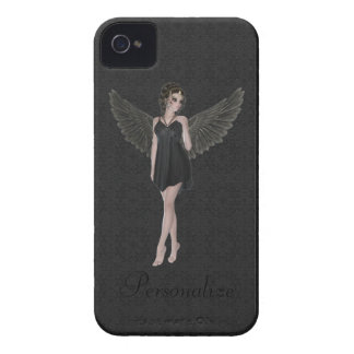 BlackBerry Bold Cute Gothic Angel iPhone 4 Cover