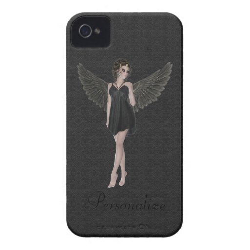 BlackBerry Bold Cute Gothic Angel Case-Mate Blackberry Case
