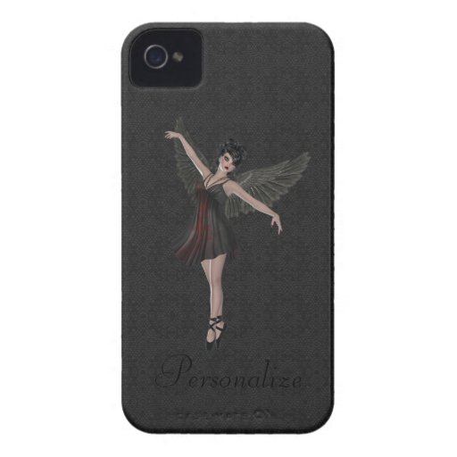 BlackBerry Bold Cute Gothic Angel Dancing Case-Mate Blackberry Case