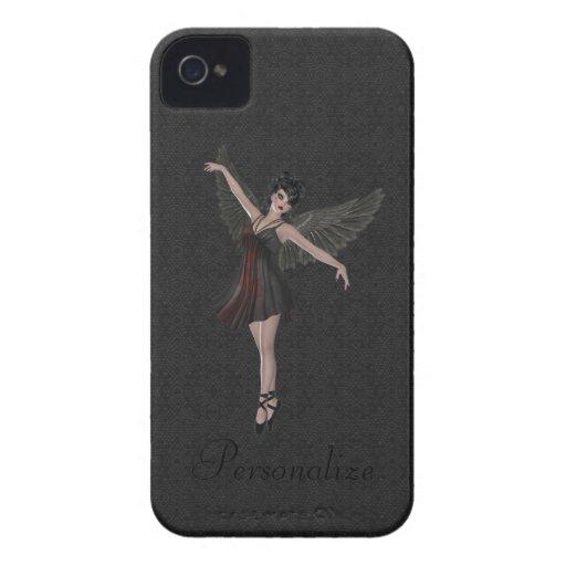 BlackBerry Bold Cute Gothic Angel Dancing Case-Mate Blackberry Case