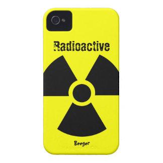 Blackberry bold - RadioActive Symbol Case-Mate iPhone 4 Cases
