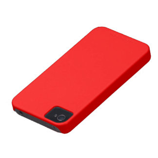 Blackberry Bold red color iPhone 4 Case-Mate Cases
