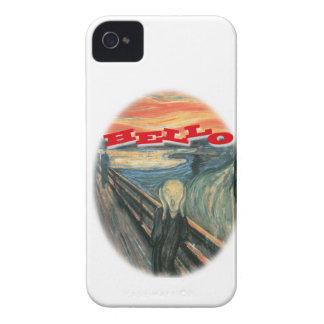 Blackberry Bold Scream Hello Case iPhone 4 Cases