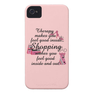 BlackBerry Bold Shopping Therapy Case iPhone 4 Case