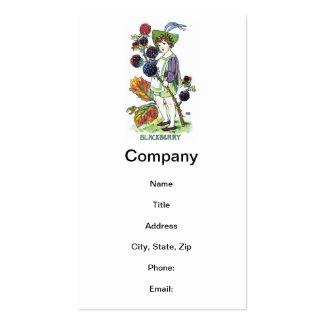 Blackberry Boy Pack Of Standard Business Cards