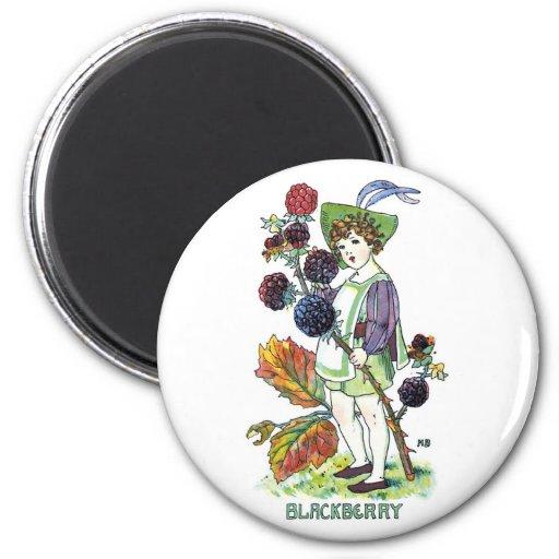Blackberry Boy Magnets