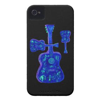 Blackberry Case- Groovy Guitars iPhone 4 Case-Mate Cases