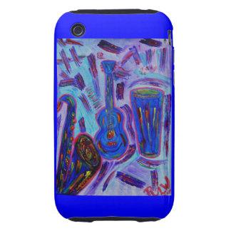 Blackberry Case-Jazz Jazz Jazz Tough iPhone 3 Cover