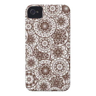 Blackberry  case  with decorative background Case-Mate iPhone 4 case