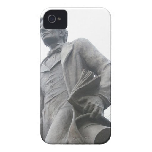 Blackberry Cover with image of Abraham Lincoln Blackberry Bold Cases