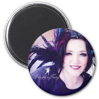Blackberry Fairy Circle Magnet