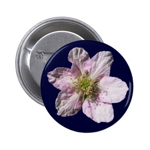 Blackberry flower ~ button