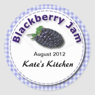 Blackberry Jam Sticker