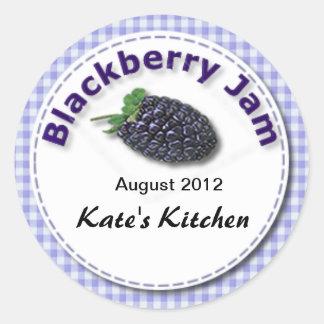 Blackberry Jam Sticker