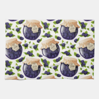 Blackberry Jam Tea Towel