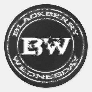 Blackberry Wednesday Sticker