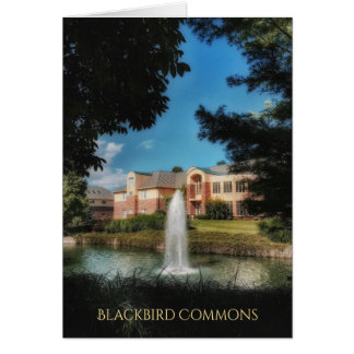 Blackbird Commons Blank Cards