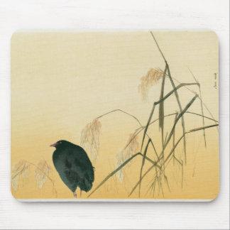Blackbird, Edo Period Mouse Mat