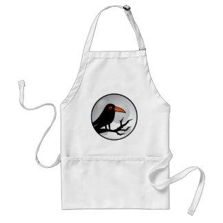 Blackbird Goth Raven/Crow Standard Apron