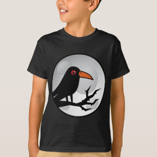 Blackbird Goth Raven/Crow T-Shirt