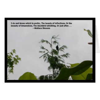 Blackbird Quote Card