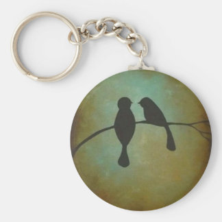 Blackbirds Basic Round Button Key Ring