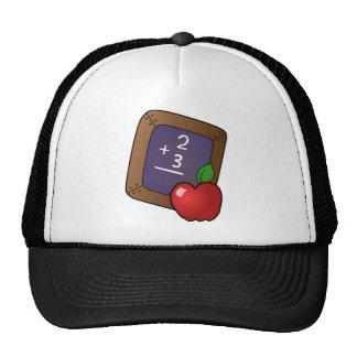 Blackboard And Apple Mesh Hat