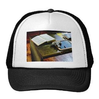 Blackboard and Books Mesh Hats