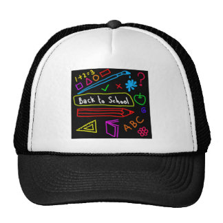 Blackboard Back To School Cap