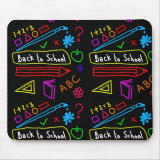 Blackboard Back To School Mouse Mat