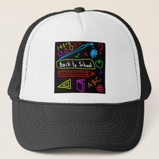 Blackboard Back To School Trucker Hat