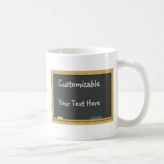 Blackboard Greeting - Customizable Coffee Mug