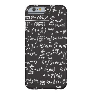 Blackboard Math Equations Barely There iPhone 6 Case