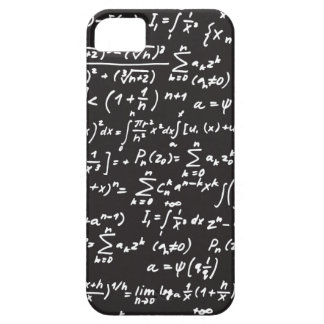Blackboard Math Equations Case For The iPhone 5